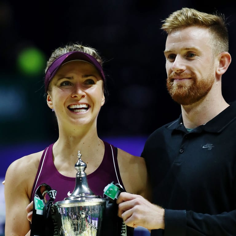 Elina Svitolina announces split from longtime coach Andrew Bettles
