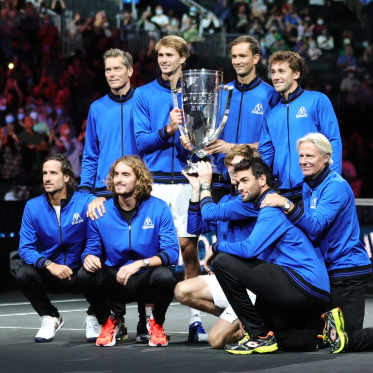 Andrey Rublev, Alexander Zverev clinch 14-1 victory for Team Europe at Laver Cup