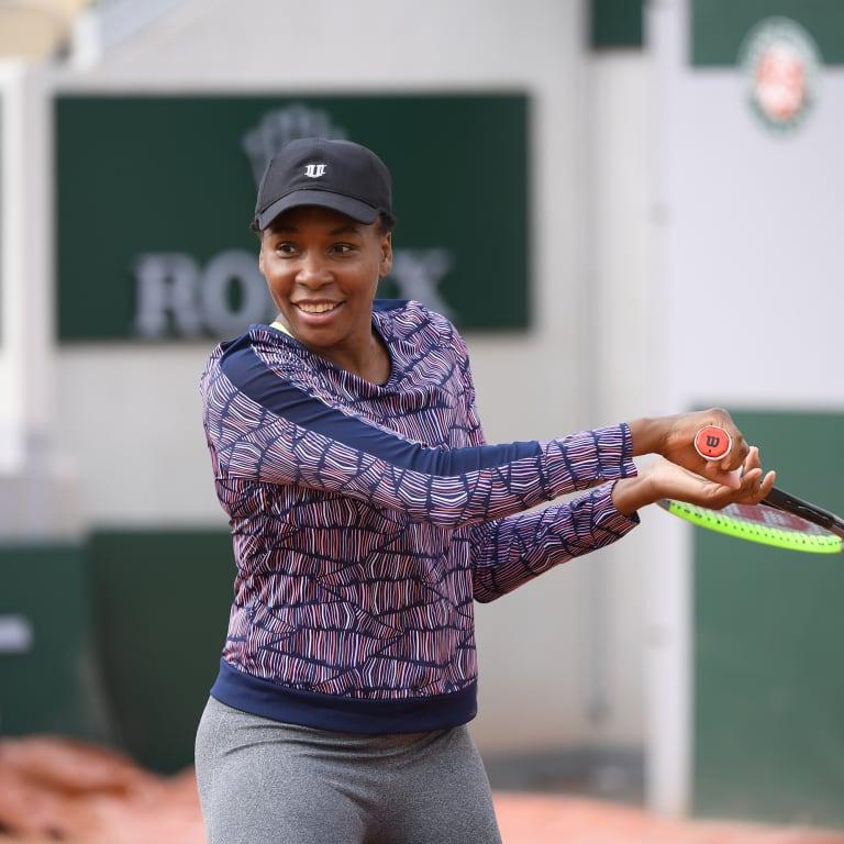 Venus shares tennis tips ahead of Roland Garros campaign