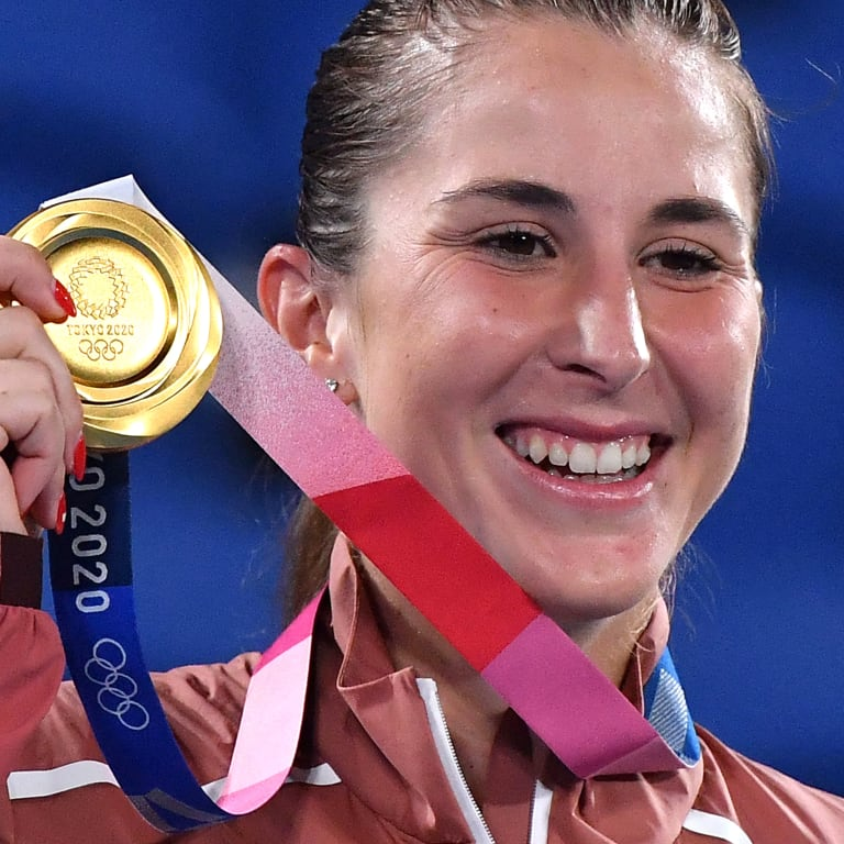 Belinda Bencic strikes gold in women's singles in Tokyo