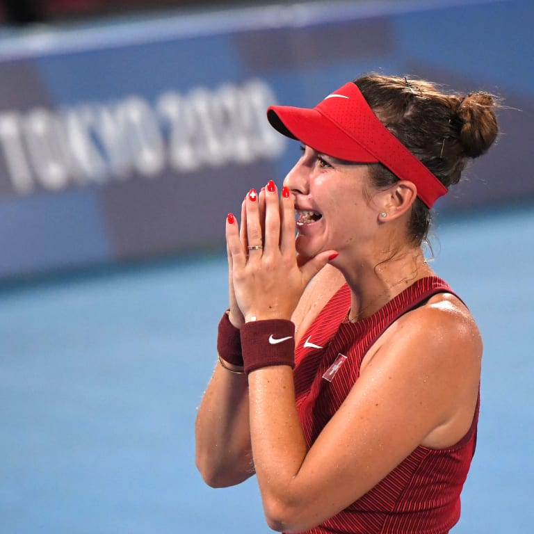 Stat of the Day: Bencic becomes fourth Swiss tennis player to win Olympic gold