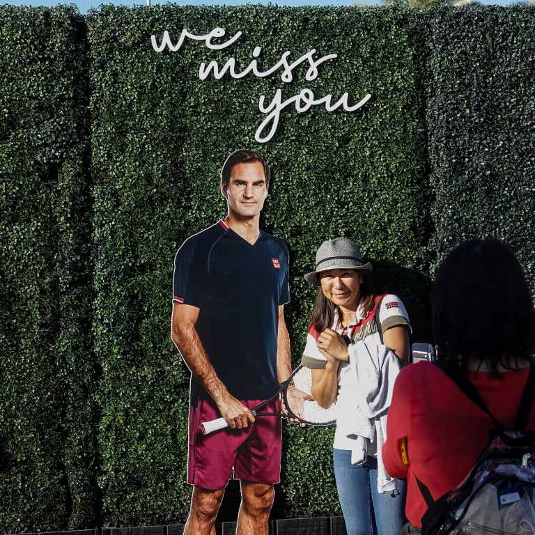 """Big Three, Serena, Osaka and more represented on BNP Paribas Open's """"We Miss You"""" wall"""