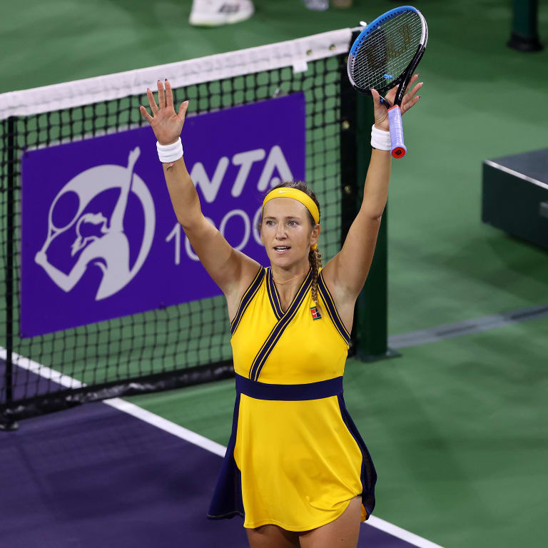 At Indian Wells, two-time champ Victoria Azarenka outclasses Jelena Ostapenko to reach first final of 2021