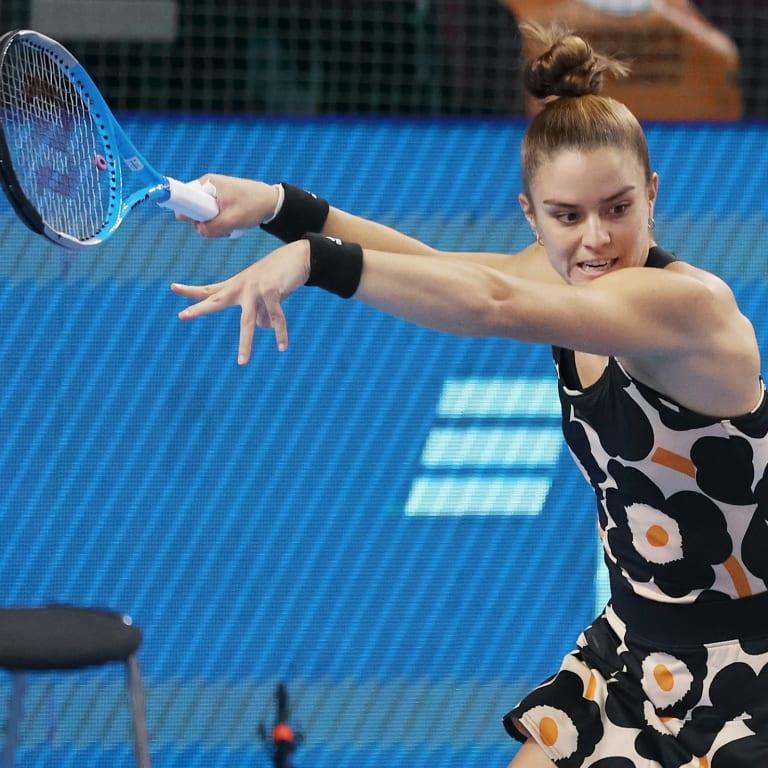 Ticket punched: Sakkari secures historic WTA Finals berth