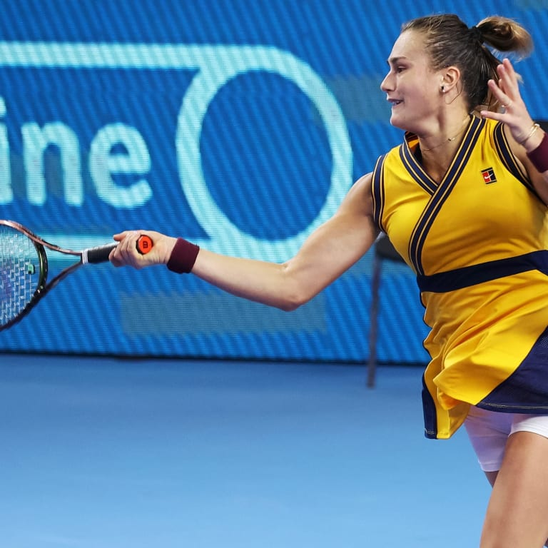 In Moscow, Aryna Sabalenka reflects on contracting COVID-19 and major semifinal experiences