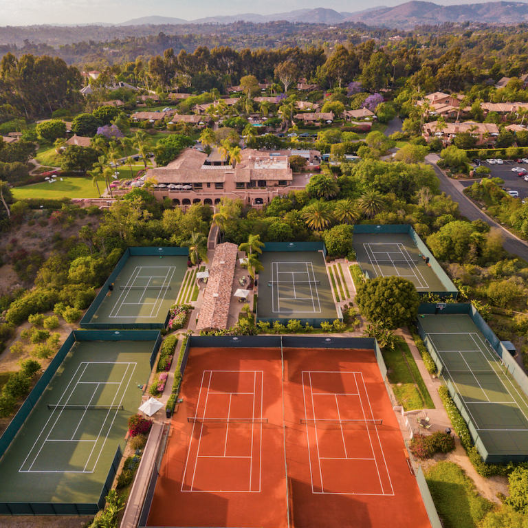 Have Tennis, Will Travel: California