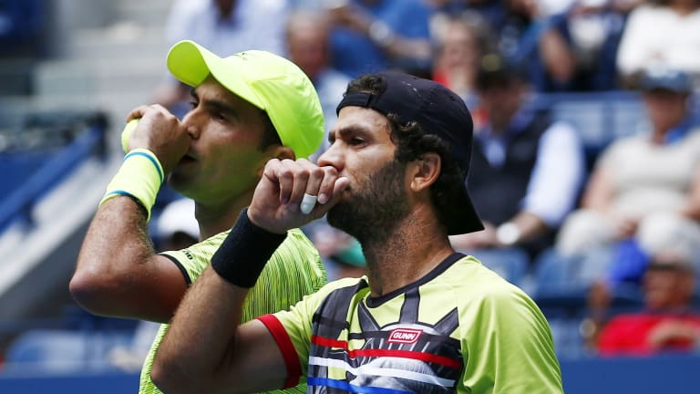 Jean-Julien Rojer's fashion statement was a moving political statement