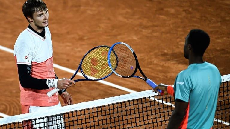 Carefree Bublik scores first Top-10 win over Monfils in Paris