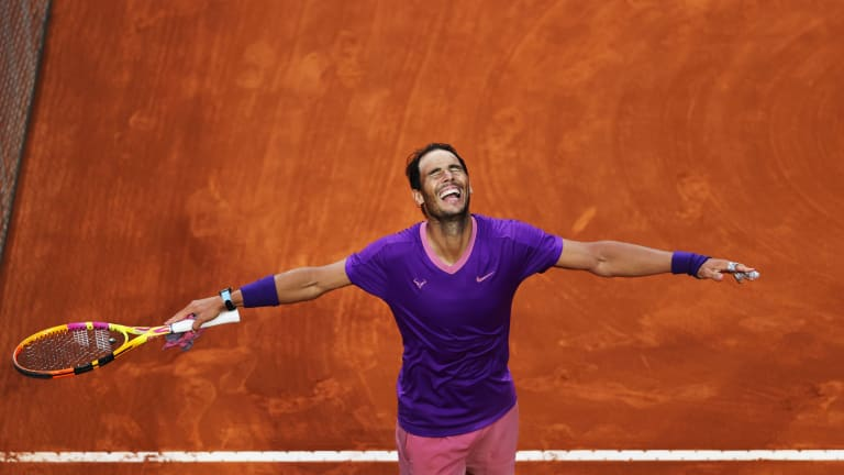 Nadal finds the final answer for Djokovic in roller coaster Rome final