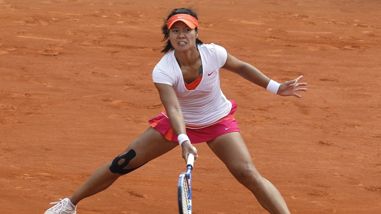 Li knocked out Victoria Azarenka and Maria Sharapova before dethroning Francesca Schiavone in the final (Getty Images).