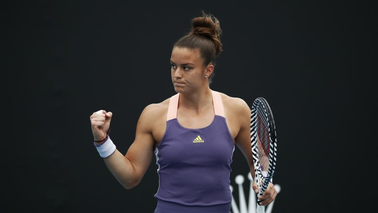 TENNIS.com Podcast: Sakkari chats about her tennis-rich family history