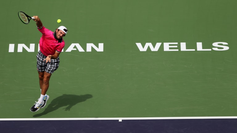 Tommy Paul was one of many men that reached the fourth round of Indian Wells without a significant title to his name.