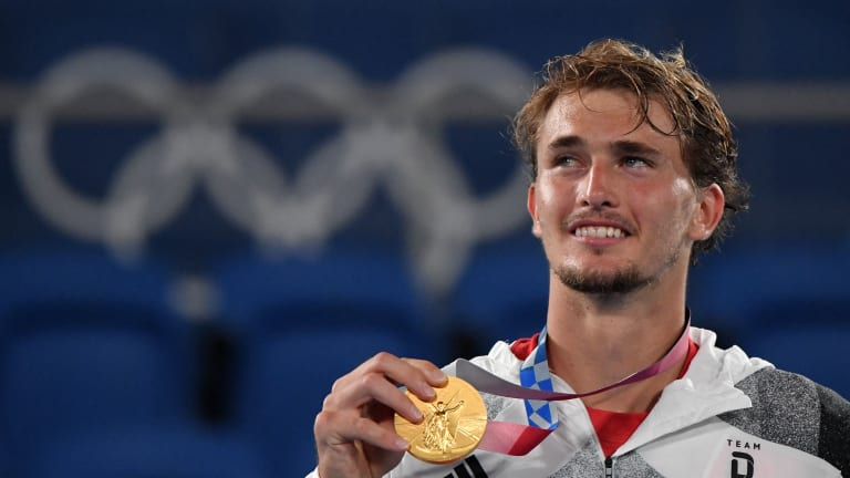 Alexander Zverev has won arguably the two biggest best-of-three-set tournaments in men's tennis: the ATP Finals, and now the Olympic Games.