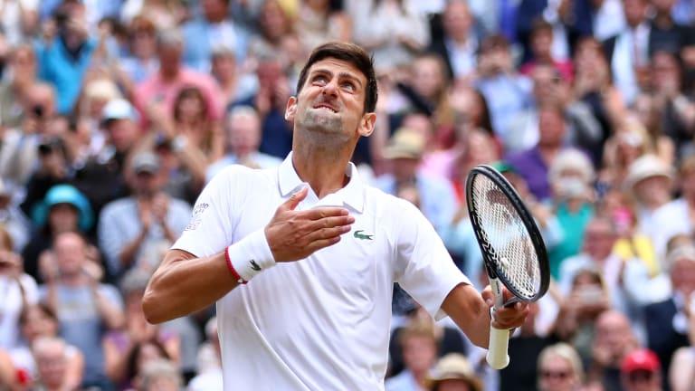 2019 Top Matches, No. 1: Djokovic d. Federer, Wimbledon final