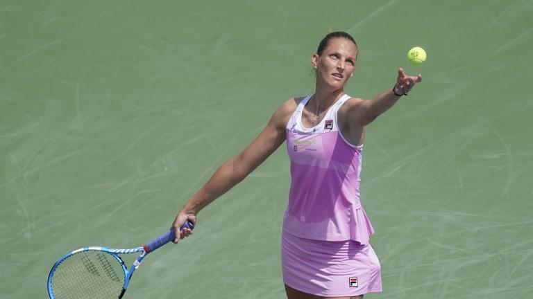 Former finalist Karolina Pliskova flying under the radar at US Open