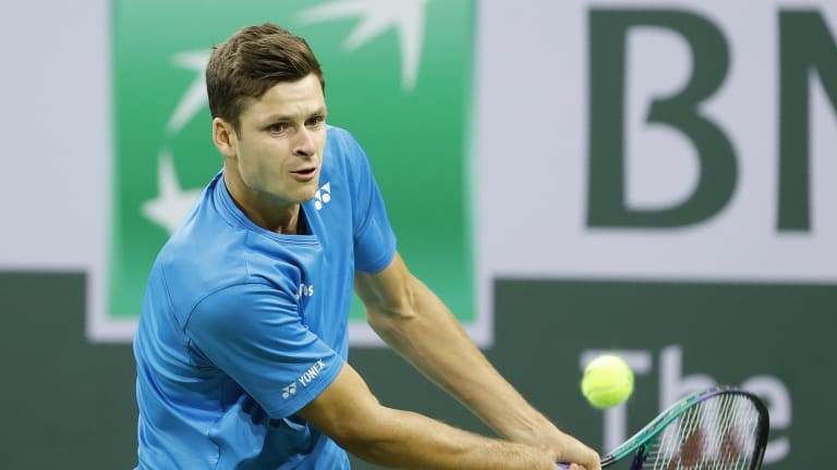 Hurkacz will need to win this match in order to move one step closer to qualifying for the ATP Finals.