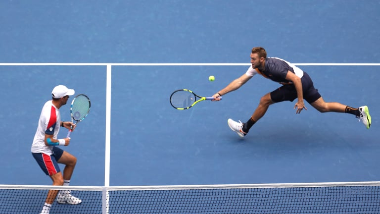 Mike Bryan and best doubles player in the world—Jack Sock—win US Open