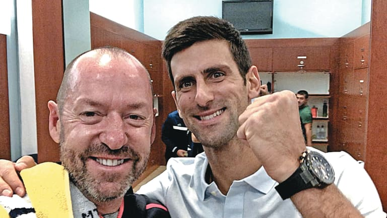 Craig O'Shannessy, one of the sport's biggest analytical proponents, has worked with Novak Djokovic and Italy's high-development tennis team.