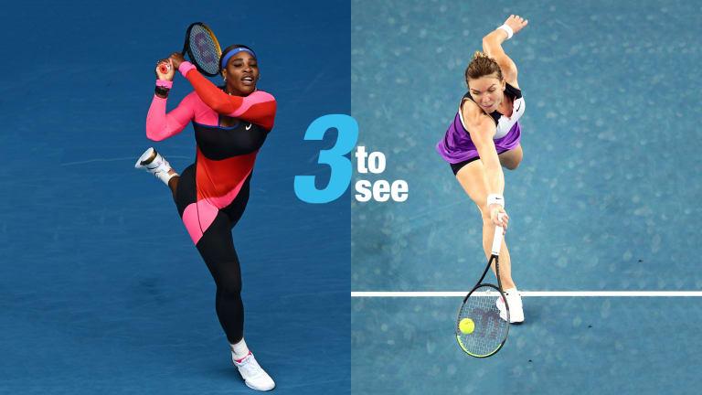 Three to See, Day 9: Serena v Halep, Osaka v Hsieh, Djokovic v Zverev