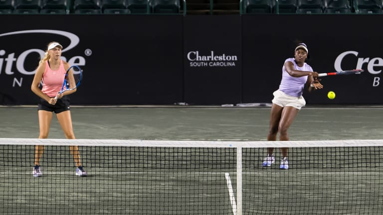 Kenin and Mattek-Sands give Team Peace 8-6 lead on Charleston's Day 3