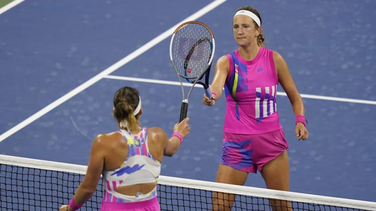 Fashion faults from  the 2020 US Open