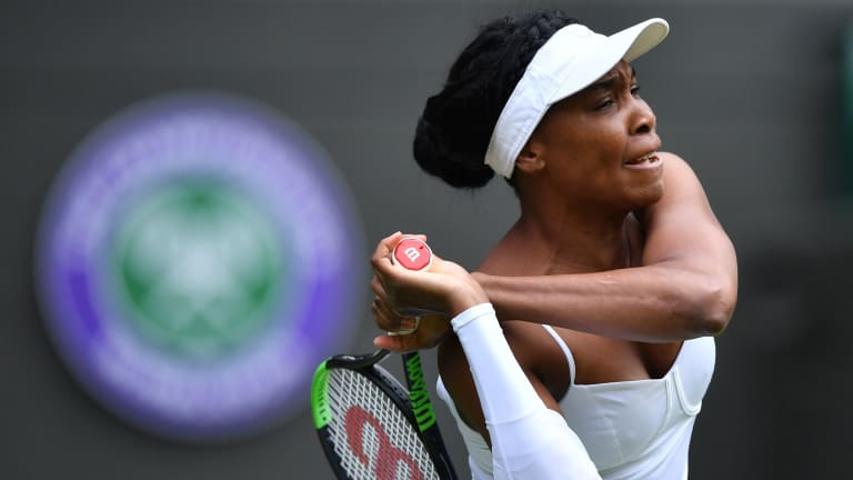 An opening-round win would see Venus notch her 90th Wimbledon singles win.