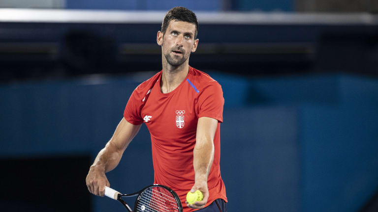 Djokovic has to like his chances. Not only are Federer and Nadal absent, but so is the man who beat him at the last two Olympics, Juan Martin del Potro.