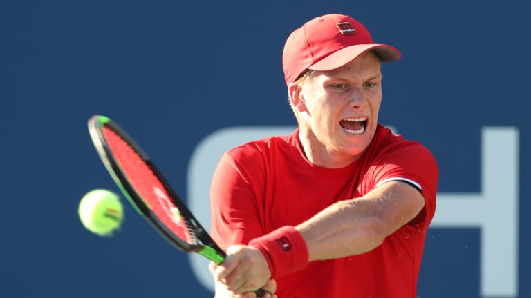 Brooksby will take what he learned from this summer's slate to tournaments to an autumn version of Indian Wells. Ranked No. 79, he opens against 179th-ranked Cem Ilkel.