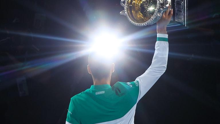 Top 5 Photos, 2/21:  Djokovic tops  Medvedev in AO final
