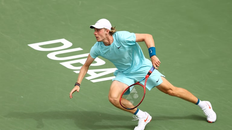 After Dubai seeds Shapovalov, Rublev and Sinner win, Thiem crashes out