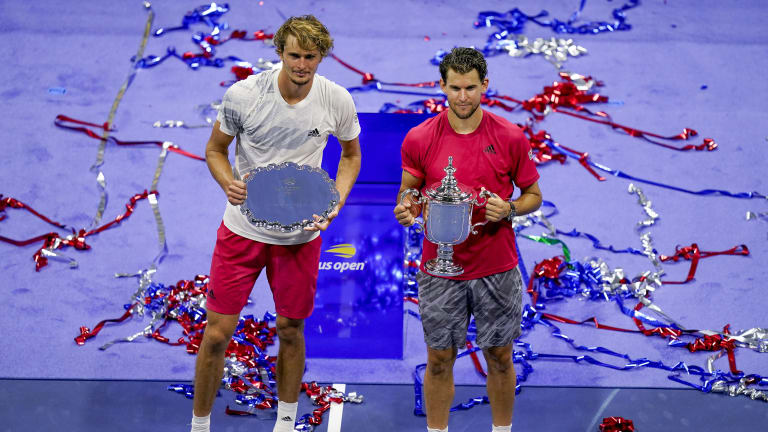 US Open Breakthroughs—Thiem as a champ; Zverev as a player to root for
