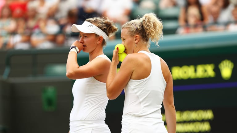 French Open champion Barbora Krejcikova is 1-3 at Wimbledon—all in qualifying matches. Her first-rounder against 18-year-old Dane Clara Tauson won't be an easy introduction to the main draw.