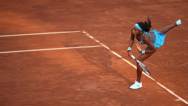 Coco Gauff wins WTA clay-court debut in Rome; Musetti shocks Wawrinka