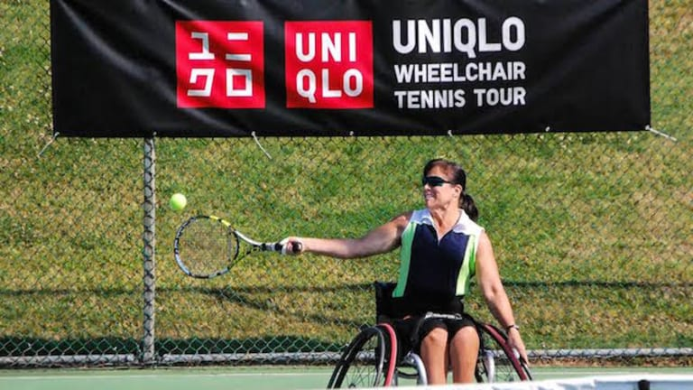 Wheelchair tennis gave Marianne Page her 'life back' after accident