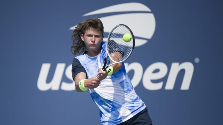 Mullet and all, J.J. Wolf was one of the indelible images from 2021 US Open qualifying.