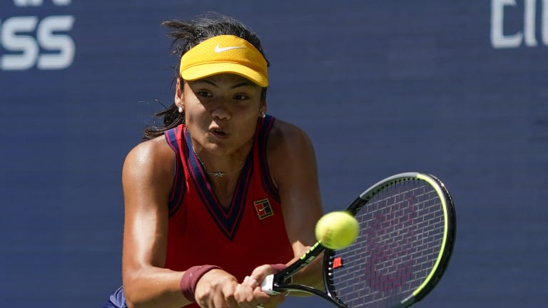 Raducanu is yet to drop a set through eight matches in New York—including three wins in qualifying.