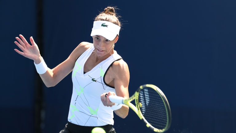Day 1 US Open looks: Priscilla Hon fights hard in Fila