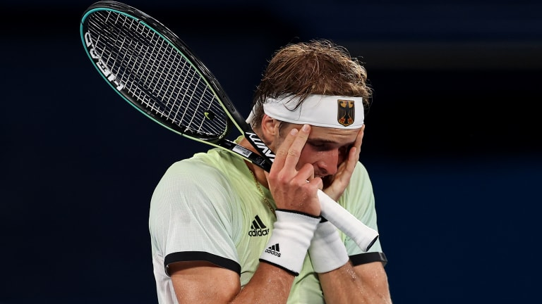 """""""It's one of the biggest achievements in my career,"""" Zverev said after his medal-clinching win."""