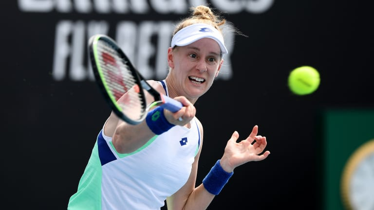 Riske to face Barty for Melbourne last eight spot; Kenin to play Gauff