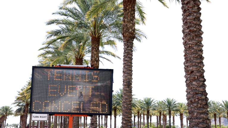 Top Moments of 2020: Cancellation of Indian Wells as shutdown began