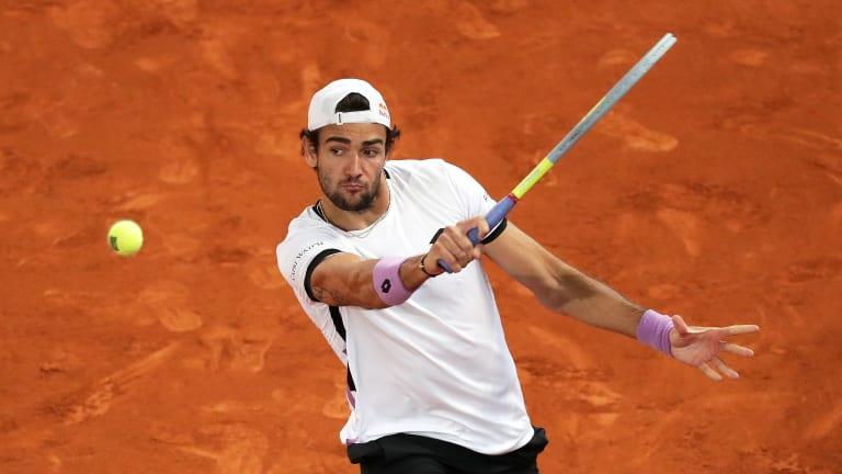 Matteo Berrettini bounces Ruud, plays Zverev for first Masters 1000