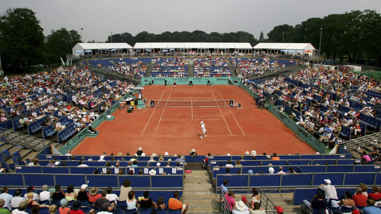 Amersfoort was also Djokovic's first ATP final. He's now been to 121 of them, putting together an 85-36 record—a .702 winning percentage.