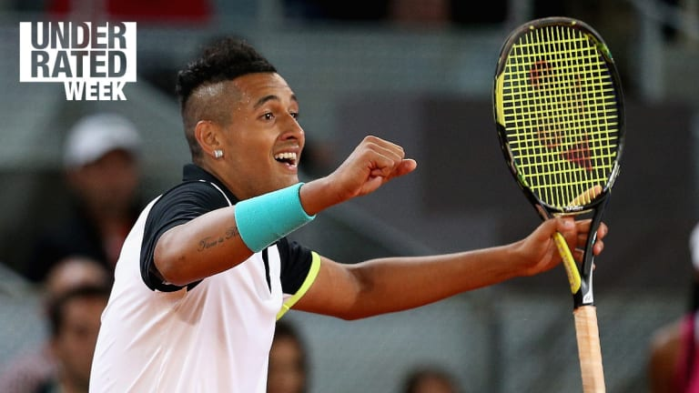 Kyrgios' big debuts, Williamses in doubles—The 5 Most Underrated Stats