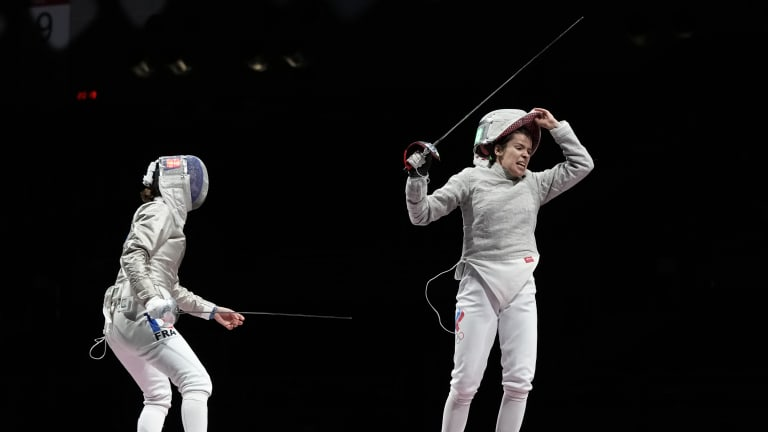 Tokyo Olympics Fencing