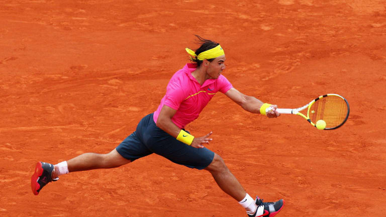 Nadal's sartorial selection at the 2009 French Open has gone down in infamy, considering the outcome.