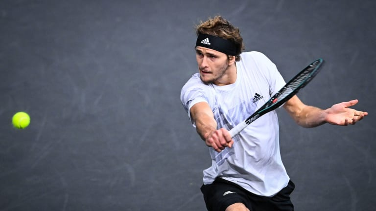 Zverev ends Nadal's pursuit of first Paris Masters title in semifinals