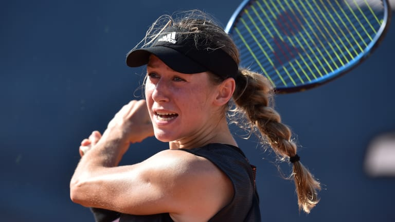 Palermo, Day 2: Vondrousova, Mertens ousted by qualifiers; Martic wins