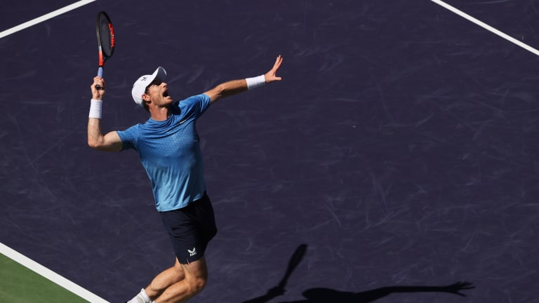 Darren Cahill rated Murray's win over Carlos Alcaraz as his best match since returning from surgery.