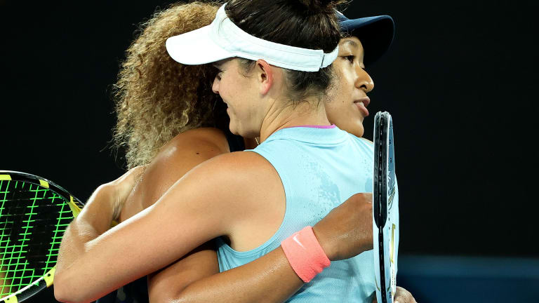 In knowing when to take pressure off herself, Naomi Osaka shines again