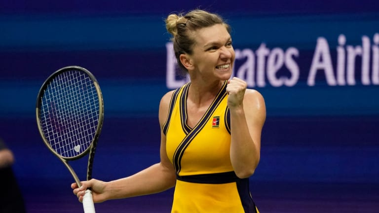 Halep is yet to drop a set in NYC after a calf tear largely derailed her season.